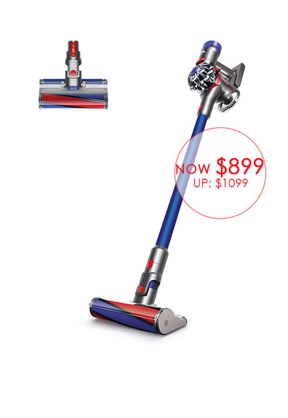 Dyson V8 Fluffy Pro Cordfree Vacuum Cleaner, Blue