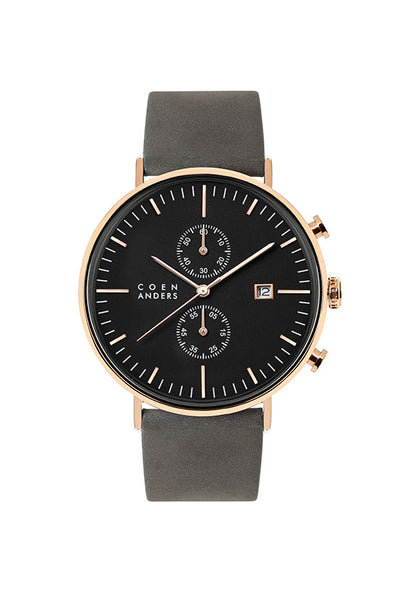 Coen Anders Glasgow Black/Rose Gold
