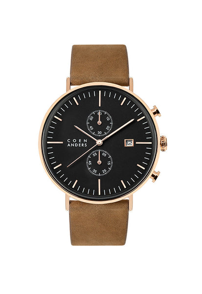 Coen Anders Lomond Black/Rose Gold