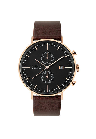 Coen Anders Edinburgh Black/Rose Gold