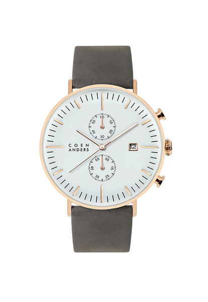 Coen Anders Glasgow White/Rose Gold