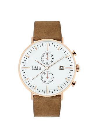 Coen Anders Lomond White/Rose Gold