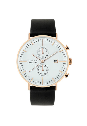 Coen Anders Kent White/Rose Gold