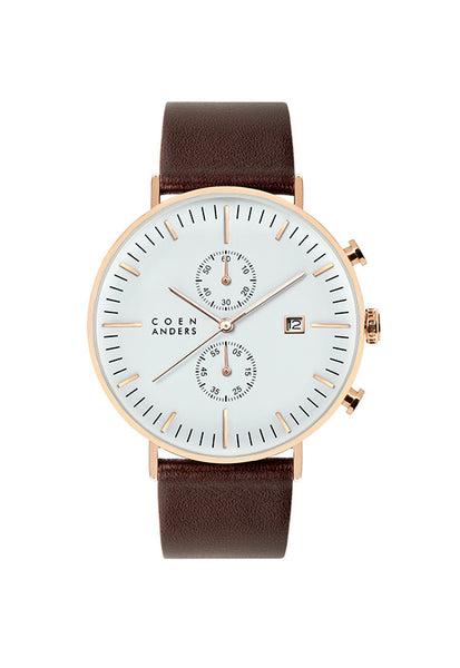 Coen Anders Edinburgh White/Rose Gold