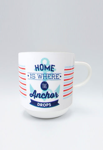 Multiple Choice Mugs, Home Is Where The Anchor Drops