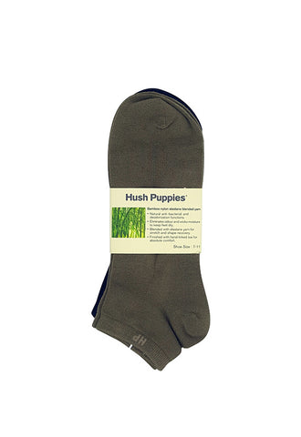 Hush Puppies 3'S Bamboo Ankle Socks