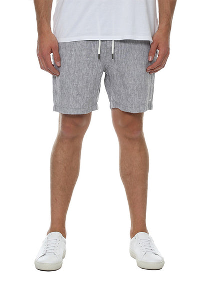 Industrie The Carribean Linen Short, Salt