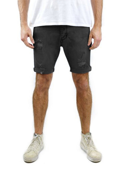 Industrie The Sawn Off Short, Washed Black