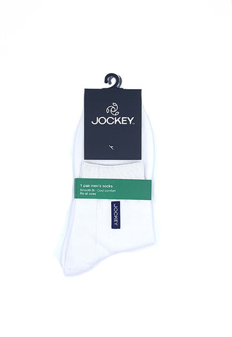 Jockey 1'S Cotton Socks, White