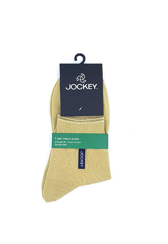 Jockey 1'S Cotton Socks, Khaki