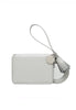 Joseph & Stacey Zip Card Wallet, Aluminium Grey