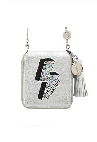 Joseph & Stacey Easy Pass Bolt Wallet, Fantasy Silver