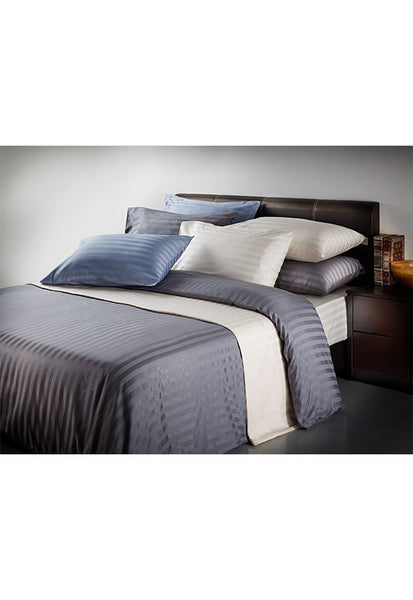 Hotel Collection 100% Cotton Sateen Bed Set, Queen (Available in 3 Colours)