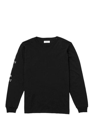 Saturdays Stencil Long Sleeve T€'Shirt Black
