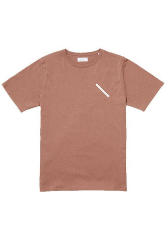 Saturdays Chest Slash T€'Shirt Copper