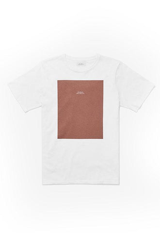 Saturdays Logo Rectangle T€'Shirt White