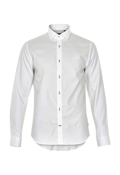 Matinique Trostol Open Weave Shirt, White