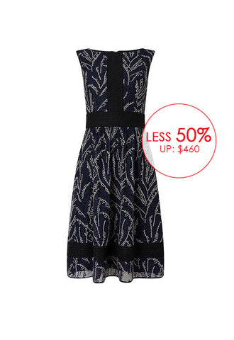 Phase Eight Delicia Embroidered Dress