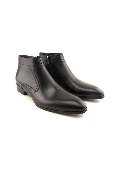 Rad Russel Dress Boots, Black