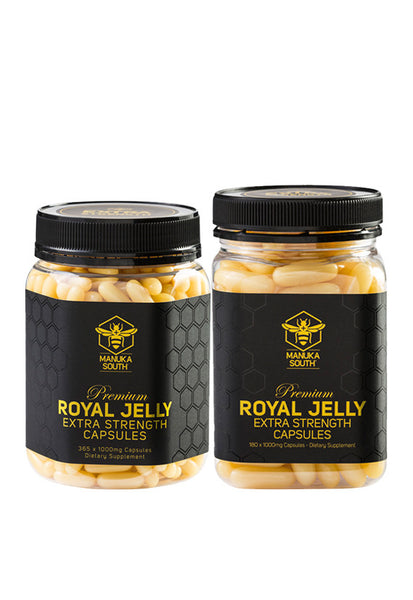 Manuka South® Royal Jelly 1000mg Xtra Strength, 365's/180's