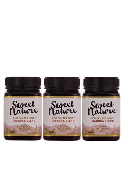 Sweet Nature  Manuka Blend, 500g Triple Pack