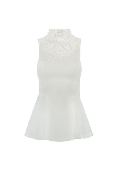 Nikkie Lupita Top,<br /> White