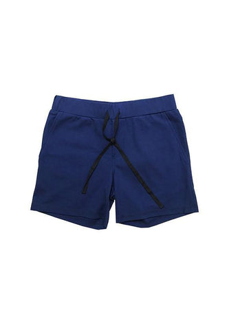 Evenodd Waist Shorts, Blue