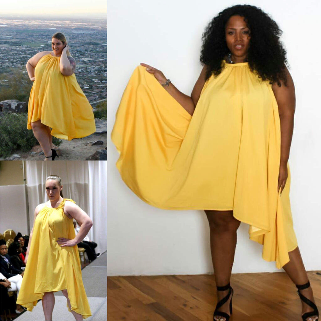 Same Dress, Different Curves: Draping the Curves Consistently