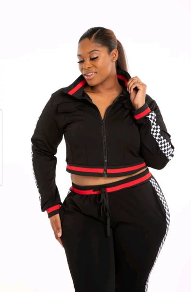 Queen of Speed 2 piece jogger set