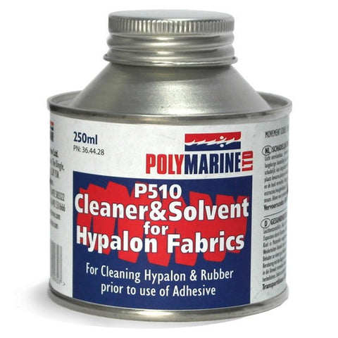 P510 SOLVENT & CLEANER FOR HYPALON FABRICS - 250ML