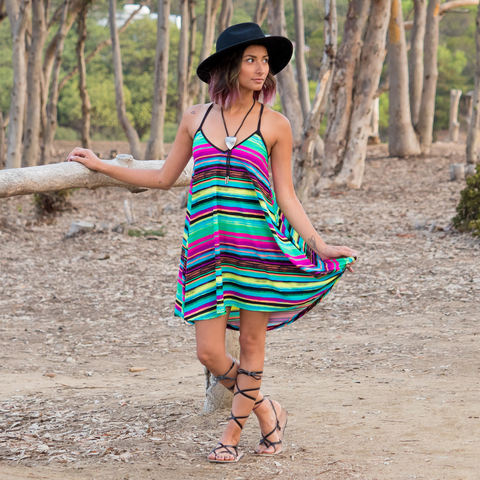 Easter Serape dress