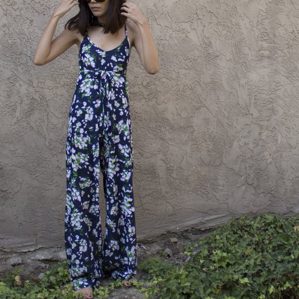 Lynt Jetset Jumpsuit in floral Daisy