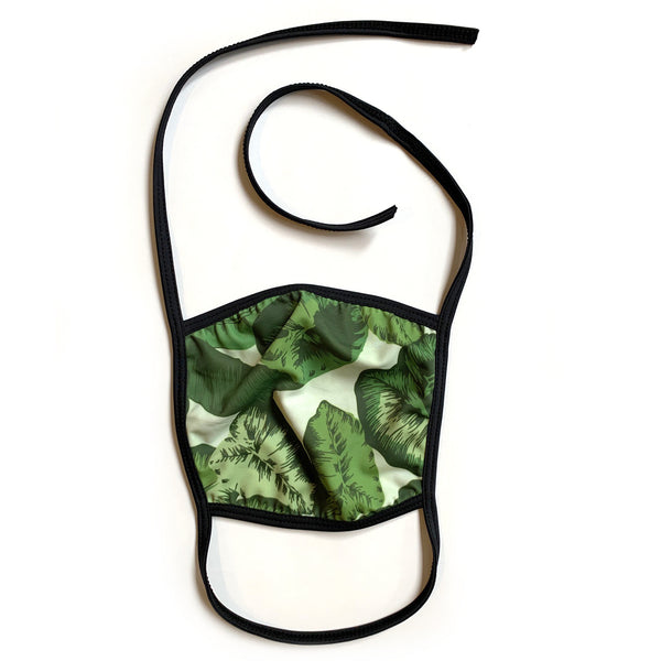 Reusable Face Mask ***Limited Edition Banana Leaf***