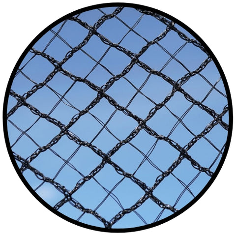 Cross X-Weave Quad Netting