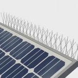 Solar Panel Bird Spikes Top Panel