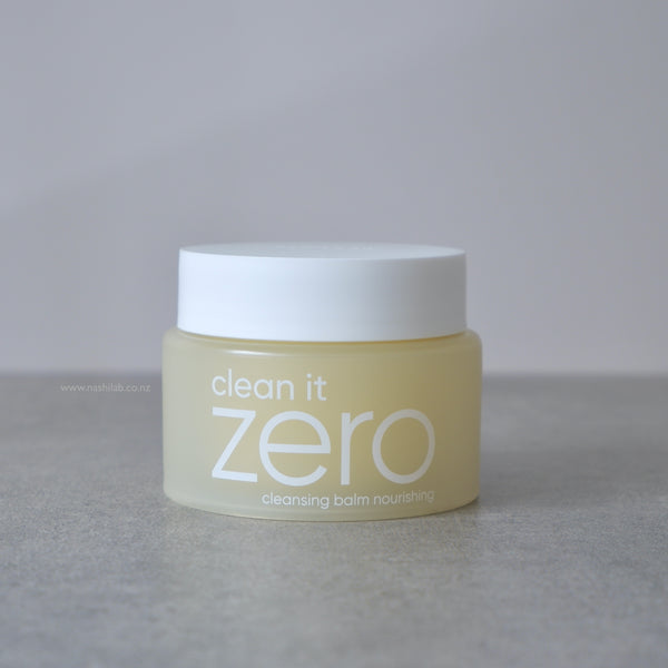 Clean It Zero Nourishing (dry) - Nashi Lab