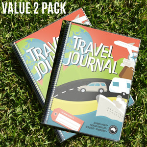 Travel Journal for the Kids Twin Pack