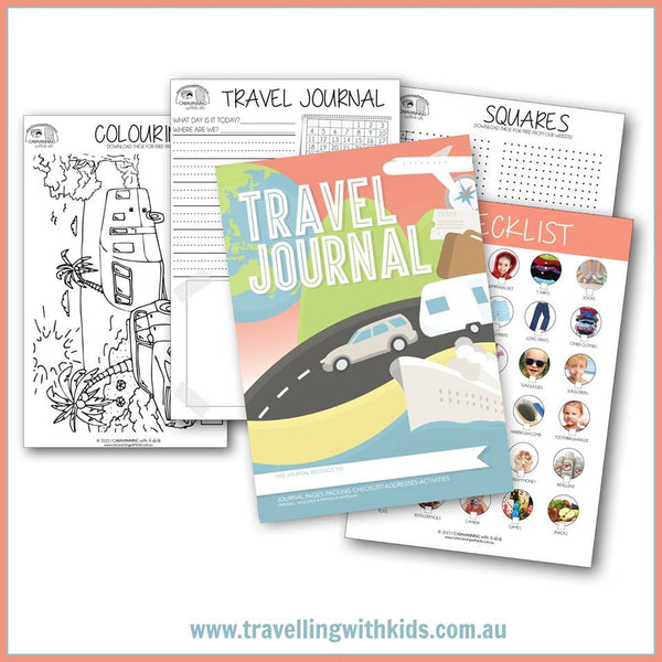 Travel Journal for the Kids
