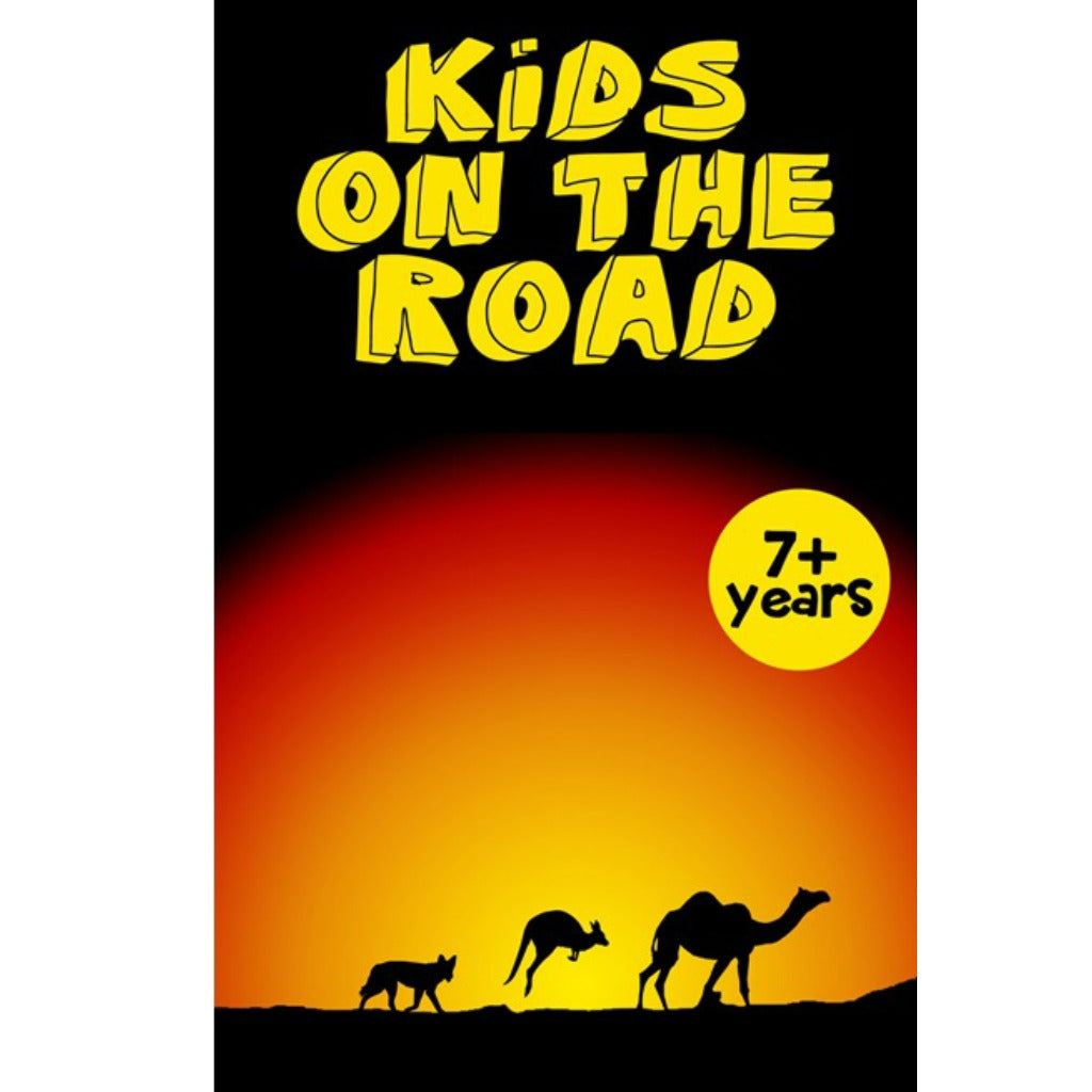 QLD Activity Sheets for Kids on the Road Travelling Australia - eSheets for immediate download