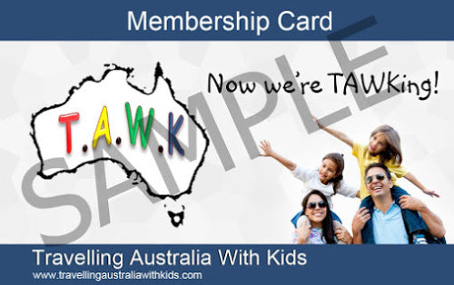The TAWK Membership Card