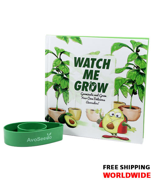 watch me grow avoseedo book set - Grow An Avocado