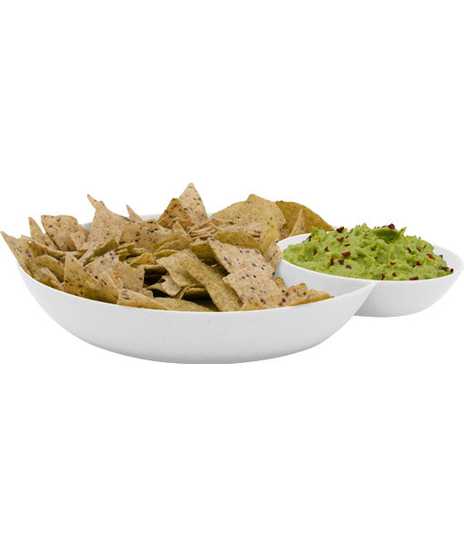 AvoSeedo 2-in-1 Salsa + Chips Bowl