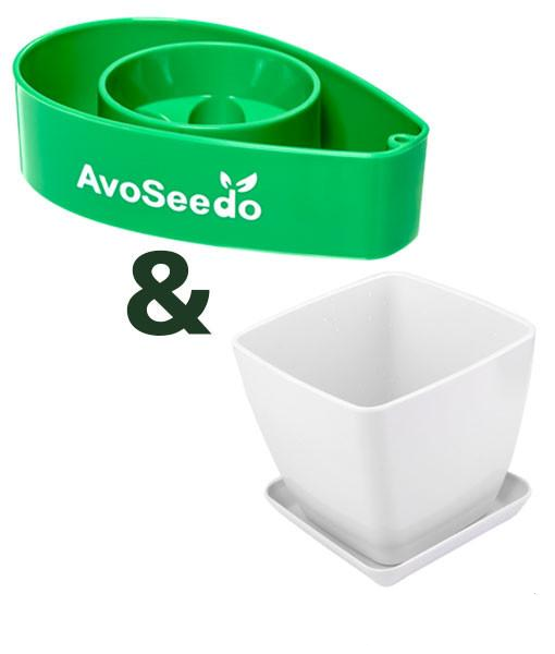- AvoSeedo Plant Pot Set -