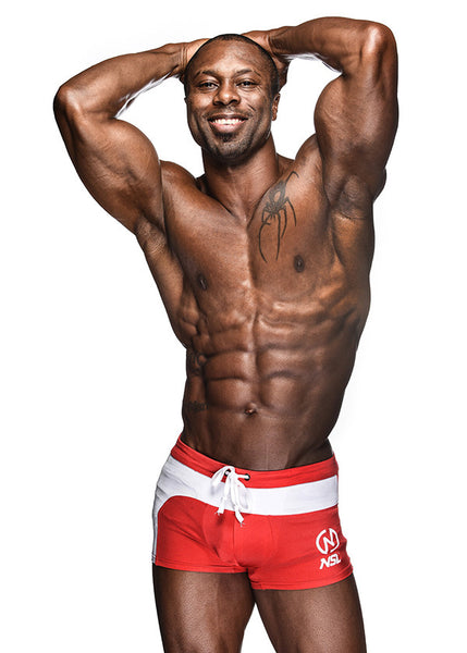 Men Physique Athletic Posing Shorts.
