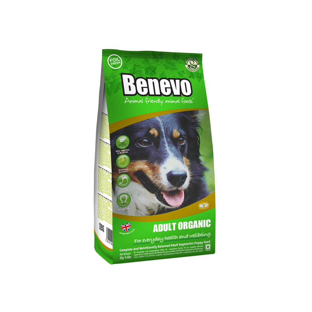 Benevo Organic Vegan Adult Dog Food 2Kg