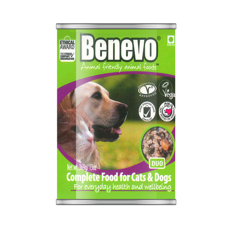 Benevo Duo Vegan Cat and Dog Food 369g