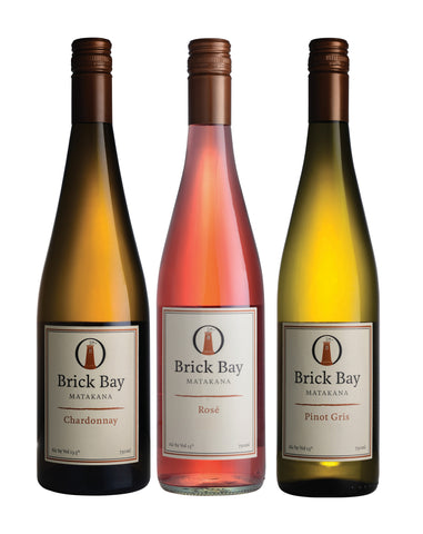 6 Pack New Release Rosé, Pinot Gris & Chardonnay