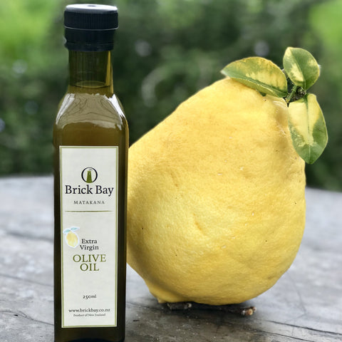 Brick Bay Lemon Infused Extra Virgin Olive Oil