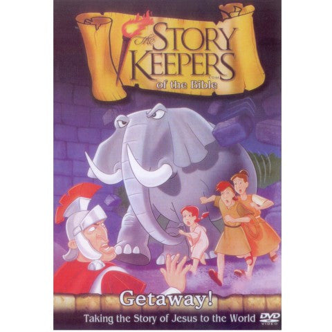 Story Keepers of The Bible - Getaway! (DVD)