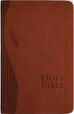 NKJV Prophecy Study Bible (Brown Leathersoft)